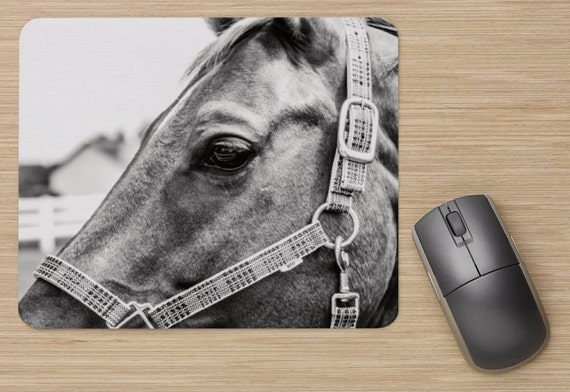 Horse Mouse Pad - Horse Mousepads - Computer Mat - Office Accessories - Office Decor - Desk Accessories - Office Gifts