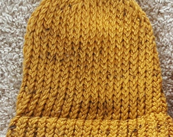 Yellow Knit Hat