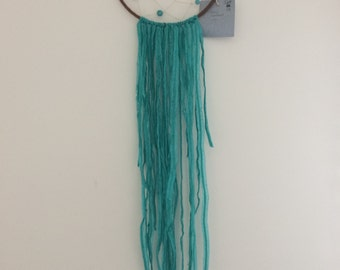 Turquoise Beaded Dream Catcher