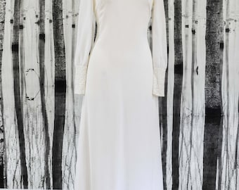 JONI- Genuine Vintage 1960s Wedding Dress