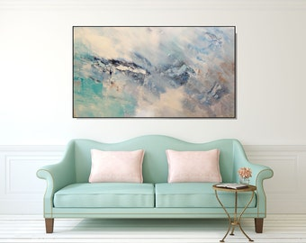 Large Wall Art Print Modern Abstract Giclee Canvas Living Room Bedroom