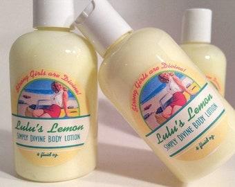 Handmade Lotion, Natural Skincare, Body Lotion, Lemon Lotion, Hand Lotion, Natural Moisturizer, Natural Lotion, Organic Lotion