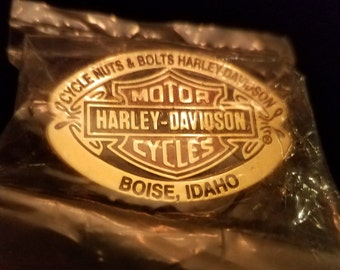 Harley Davidson Nuts and Bolts – Boise ID Pin