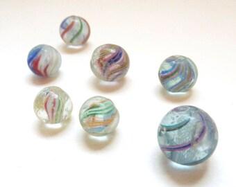 Vintage Marbles Etsy