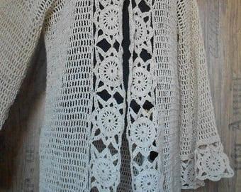 crochet cardigan sweater, womens summer sweater, women oversized sweater, long cardigan for woman, long cardigan, plus size cardigan elegant