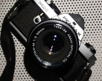 Pentax MX SLR with Penrtax 50mm f2.0 Prime Lens