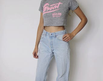 Vintage Levi's 501 Denim Jeans 28 | Levis 501 High Waist Denim Jeans | Light Blue Denim Jeans