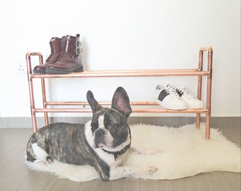 Copper Shoe Rack [Custom Orders]