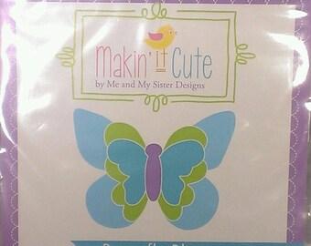MAKIN' IT CUTE  ~ Butterfly Bliss Template by Me & My Sister