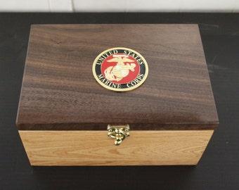USMC keep sake box