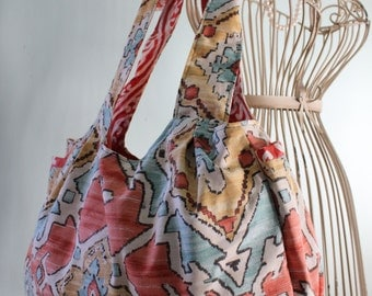 Spanish Print, Amy Butler, Sunday Sling Bag