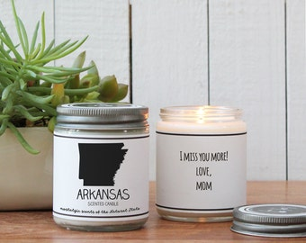 wisconsin scented candle homesick gift feeling homesick