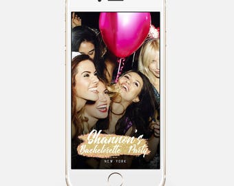LIMITED TIME! Bachelorette Snapchat Filter, Bachelorette Snap Chat Filter, Bachelorette Snapchat Geofilter, Bachelorette Geofilter,bir112