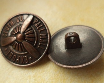 21 mm (5676) metal button jacket buttons buttons 10 METAL KNOBS copper