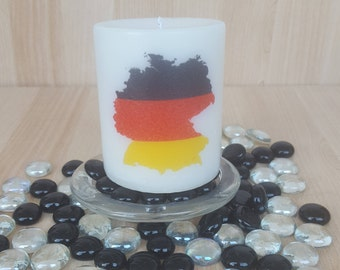Map of Germany Scented Candle/Pillar Candle/Perfect Gift/Home Decor
