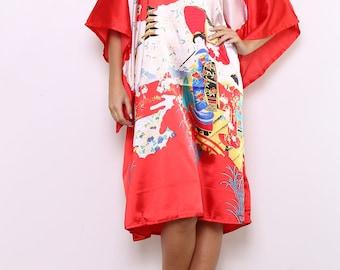 Short negligee pattern Japanese style