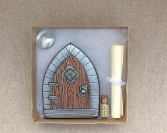 Fairy door set etsy for Fairy door gift set