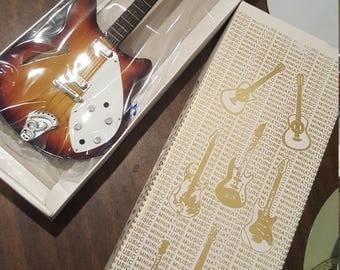 Beautiful Music Miniature Electric Guitar