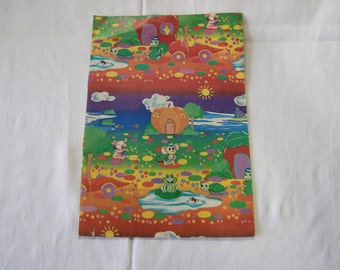 Vintage   Cute Little Animal   Wrapping Paper