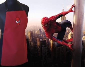 Children's apron, Spiderman, children apron
