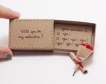Funny valentine's day card/ Cute Valentine Card/ Funny Valentine Card/ Witty Valentine's Day Card/ Will You Be My Valentine?/ LV018