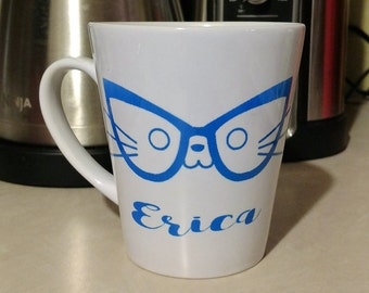 Cat Mug Personalized