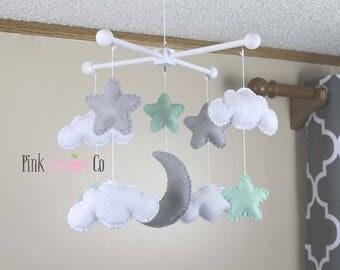 nursery decor,grey nursery decor,modern nursery decor,nursery mobiles,nursery mobile,star nursery decor,baby mobiles,baby mobile,crib mobile