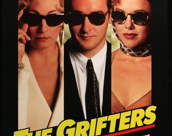"Grifters (1990) Vintage One-Sheet Movie Poster - 27"" x 41"""