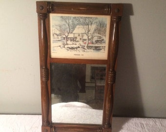 Currier and Ives Painting / Mirror