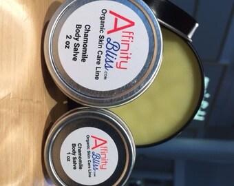 Chamomile Skin Salve Organic 4 oz