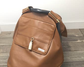 Light Brown Faux Leather