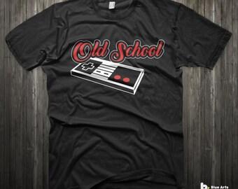 Old school gamer shirt gamer t shirt 1985 gift for gamer