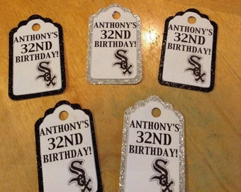 Personalized Chicago White Sox Gift Tags