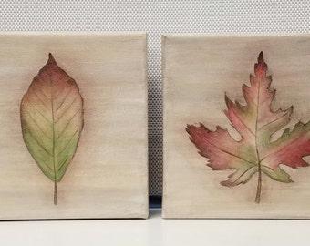 Autumm Leaves (Set  of 4)