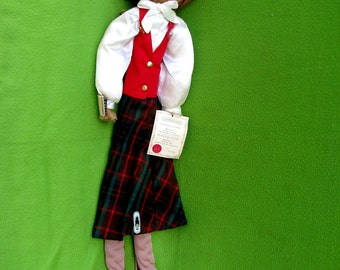 Vintage Francilaine Character Doll, Secretary, 1980's