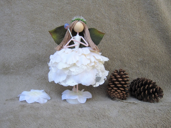 Christmas Flower Fairy Tree Topper Angel Tree Topper