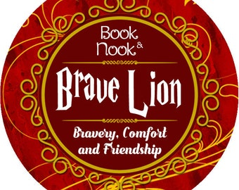 Brave Lion | 4.5oz tin | Harry Potter Scented Soy Candle