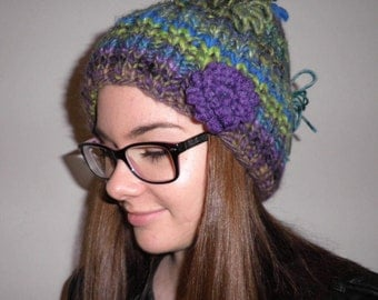 colorful Hat wool