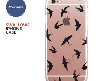iPhone 6 Case, iPhone 6s Case Swallows iPhone 7 Case Swallows iPhone 6s Plus Case Birds iPhone 6 Case Birds iPhone 6+ Case (Ships From UK)