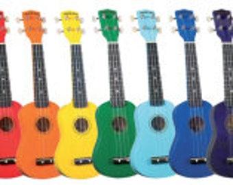 Custom Hand-Painted Soprano Ukulele