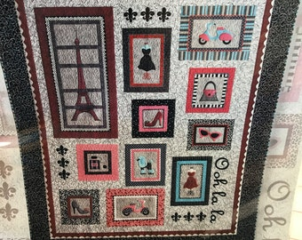 Ooh la la embroidery | Etsy : lunch box quilts - Adamdwight.com