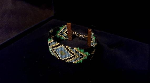 Handmade Delica Beadloom Bracelet