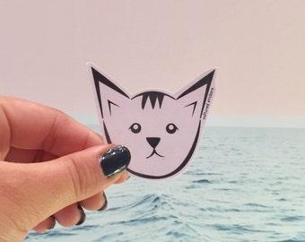 kitty cat sticker