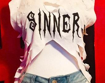 Sinner Crop Top