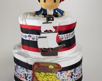 Jake and the Neverland Pirates Diaper Cake