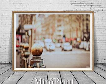 Paris Print, Large Art Print, Wall Decor, Minimalist Fine Art Photography, Paris Photo, Modern Wall Art, Travel, Printable Photos, Vintage