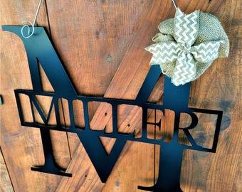 Rustic Wedding Signs, Wedding Guest Book, Wedding Decor, Home Decor, Wedding Gifts, Anniversary, Housewarming Gift, Wedding Hangers, Metal