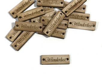 Wood Tags - Product Tags - Shop Tags - Engraved Tags - Hang Tags - Knitting Tags - Custom Labels - Product Labels - Purse Labels