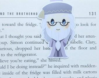 Dumbledore - magnetische Lesezeichen || Harry Potter | Hogwarts | immer | Buchgeschenk | Lesezeichen | Bücherwurm | magnetische Lesezeichen