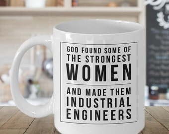 Industrial Engineer, Engineer Gifts, Engineer Mug, Engineering Gift, Women Engineer